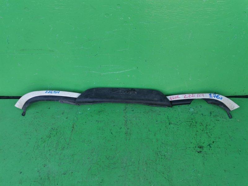 Накладка на бампер Toyota Spacio ZZE124 задняя (б/у)