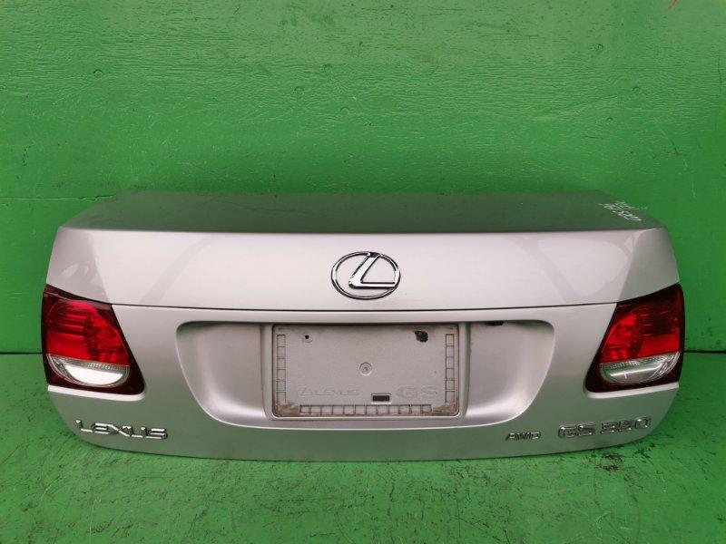 Крышка багажника Lexus Gs350 GRS196 (б/у)