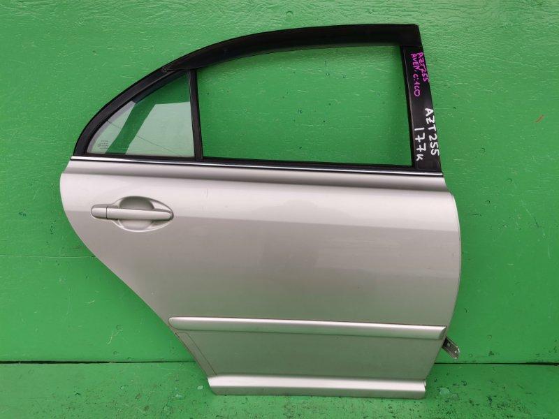 Дверь Toyota Avensis AZT255 задняя правая (б/у)