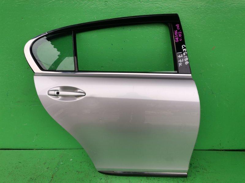 Дверь Lexus Gs350 GRS196 задняя правая (б/у)