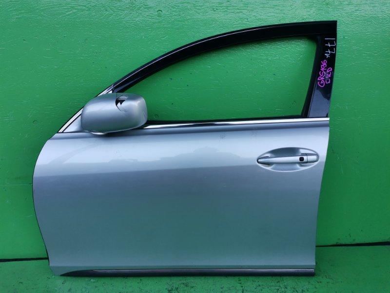 Дверь Lexus Gs350 GRS196 передняя левая (б/у)