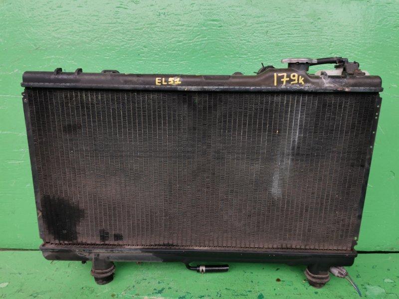 Радиатор основной Toyota Corsa EL51 4E-FE (б/у)