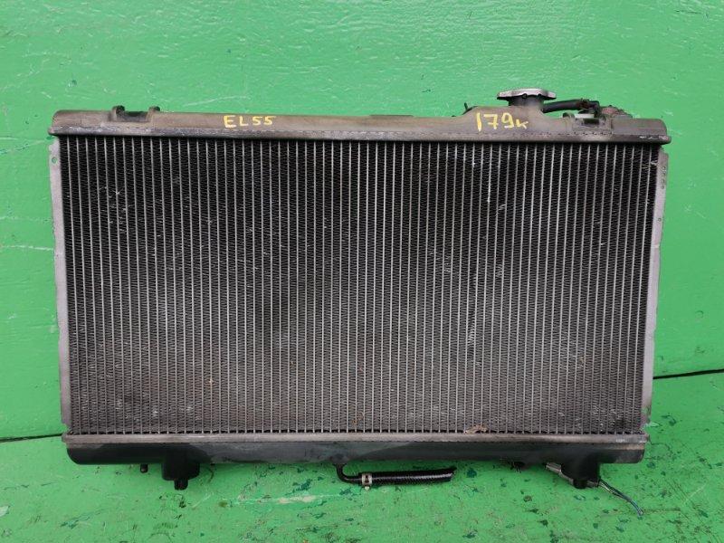 Радиатор основной Toyota Tercel EL55 (б/у)