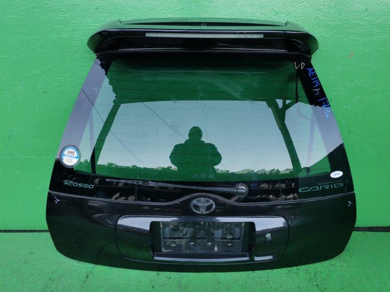 Дверь задняя Toyota Carib AE114 (б/у)