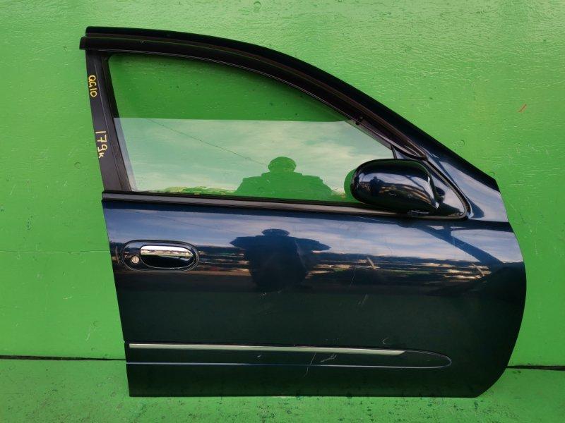 Дверь Nissan Bluebird Sylphy QG10 2002 передняя правая (б/у)