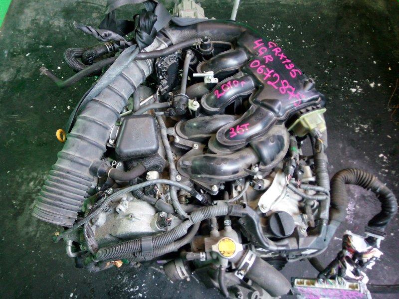 Двигатель Toyota Mark X GRX135 4GR-FSE 2010 (б/у)