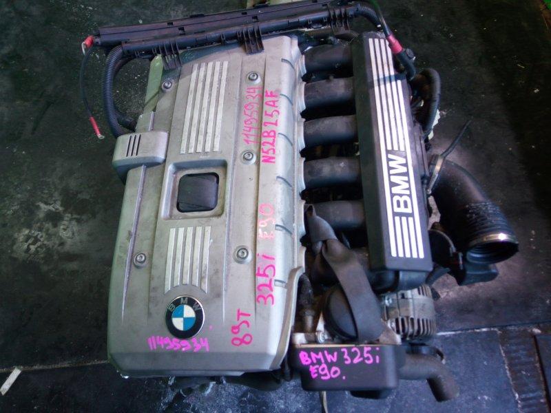 Двигатель Bmw 325I E90 N52B25AF (б/у)