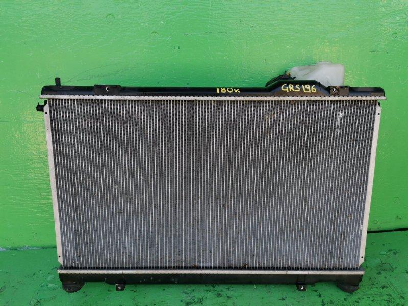 Радиатор основной Lexus Gs350 GRS196 (б/у)