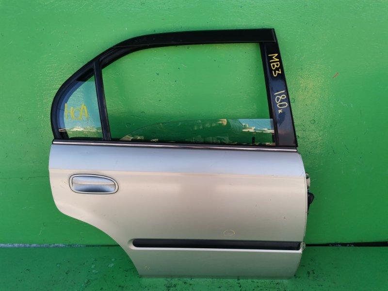Дверь Honda Domani MB3 задняя правая (б/у)