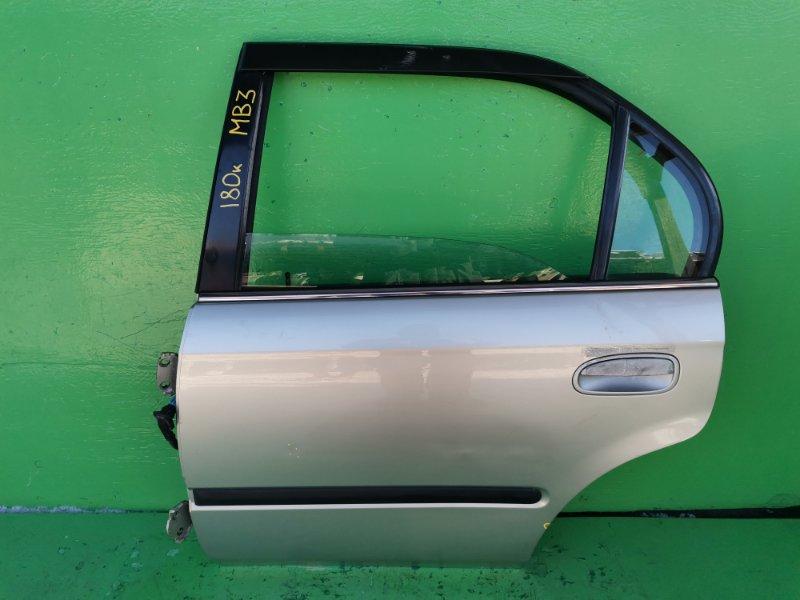 Дверь Honda Domani MB3 задняя левая (б/у)