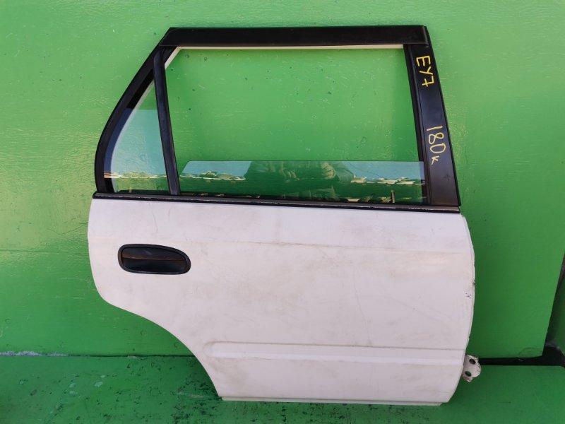 Дверь Honda Partner EY7 задняя правая (б/у)