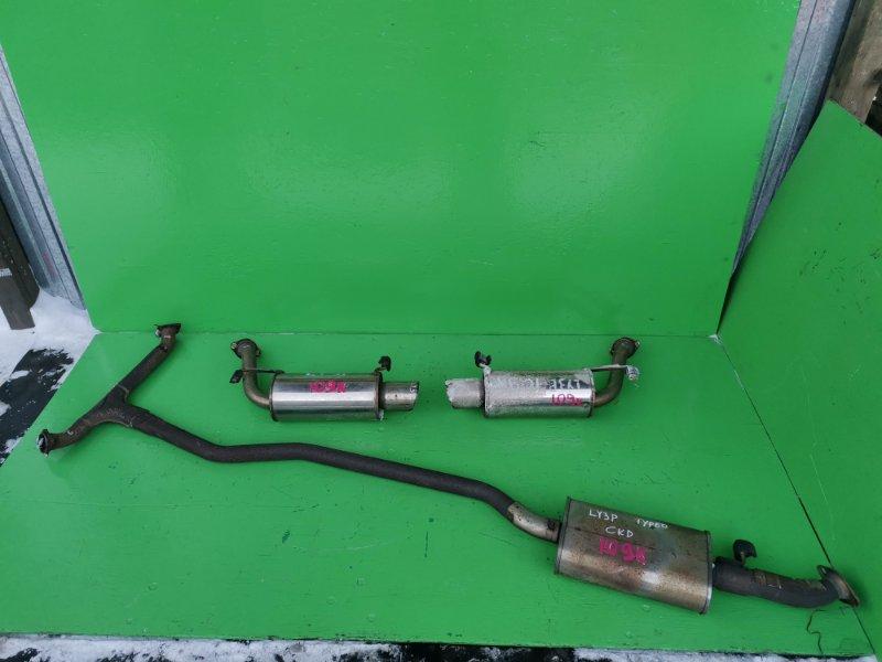 Глушитель Mazda Mpv LY3P (б/у)