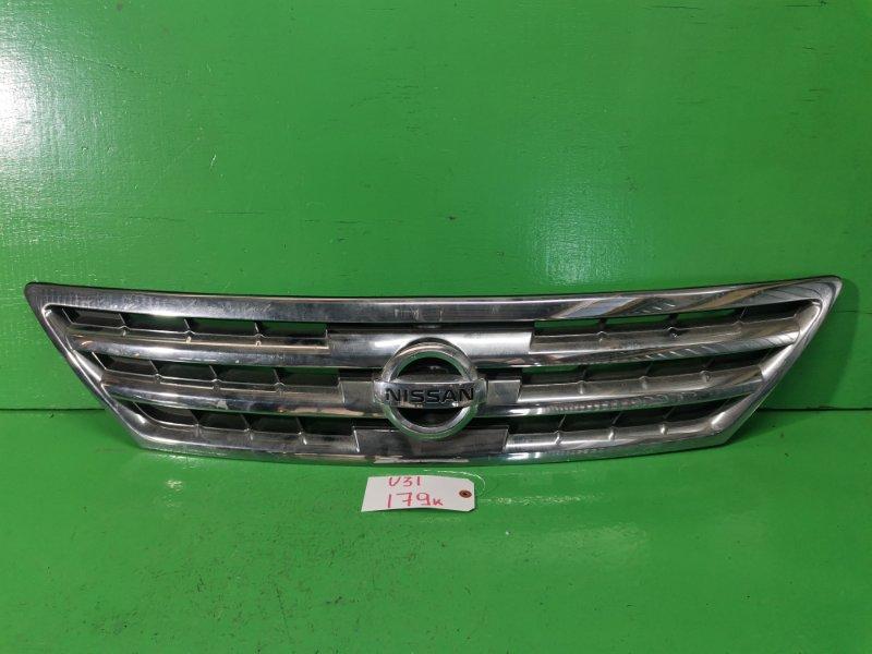 Решетка радиатора Nissan Presage U31 (б/у)