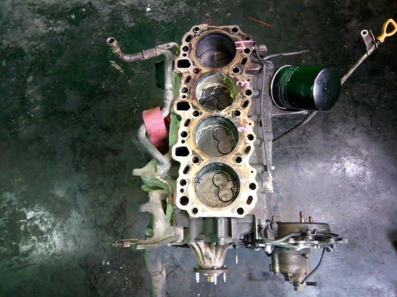 Блок цилиндров Toyota Prado KZJ78 1KZ-TE (б/у)