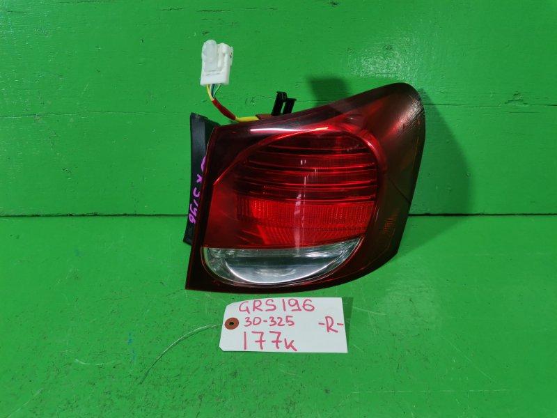 Стоп-сигнал Lexus Gs350 GRS196 правый (б/у)