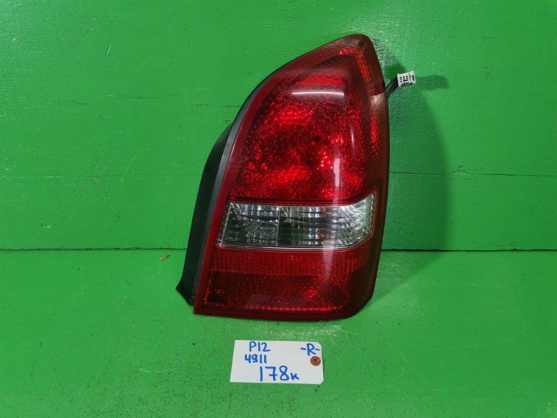Стоп-сигнал Nissan Primera P12 правый (б/у)