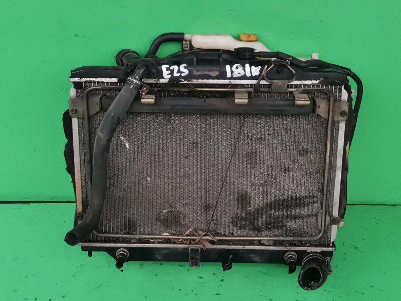 Радиатор основной Nissan Caravan E25 (б/у)