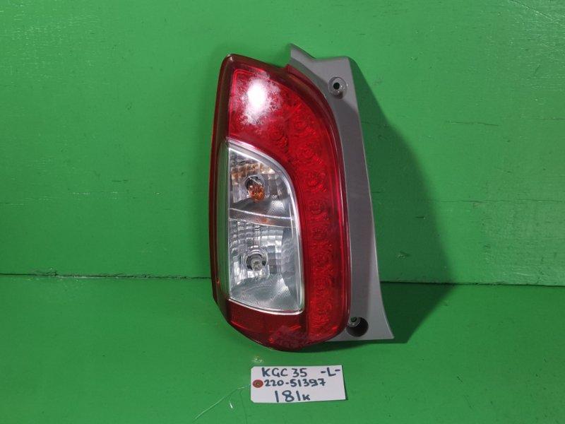 Стоп-сигнал Toyota Passo KGC35 левый (б/у)
