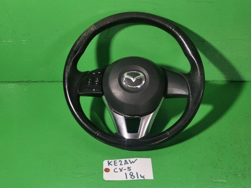 Руль с airbag Mazda Cx-5 KE2AW (б/у)