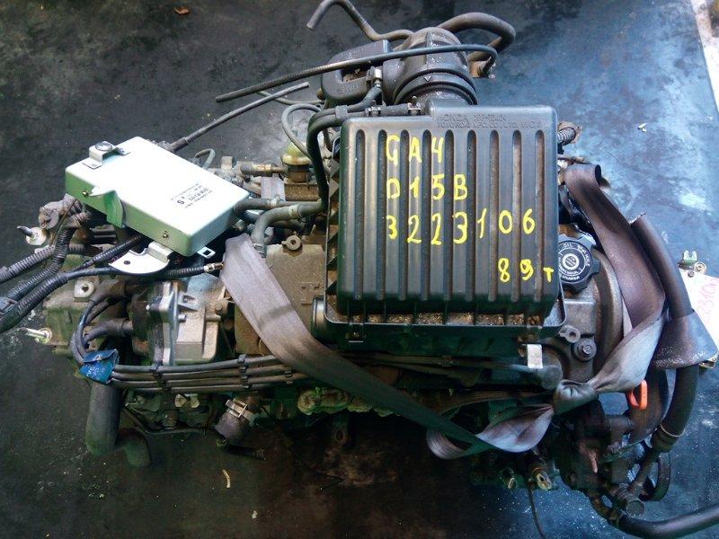 Двигатель Honda Capa GA4 D15B (б/у)