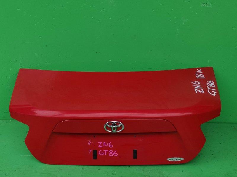 Крышка багажника Toyota Gt86 ZN6 (б/у)