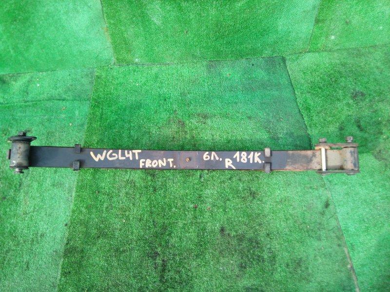 Рессоры Mazda Titan WGL4T передние правые (б/у)