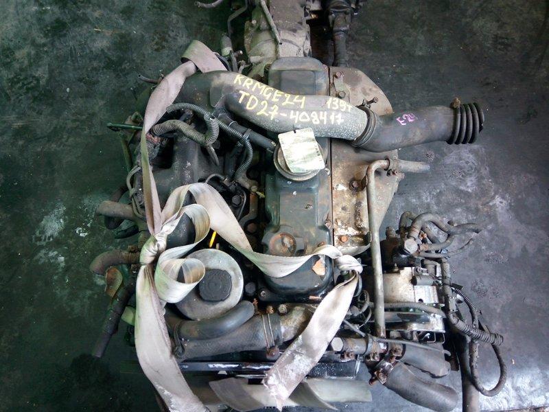 Двигатель Nissan Caravan E24 TD27 (б/у)