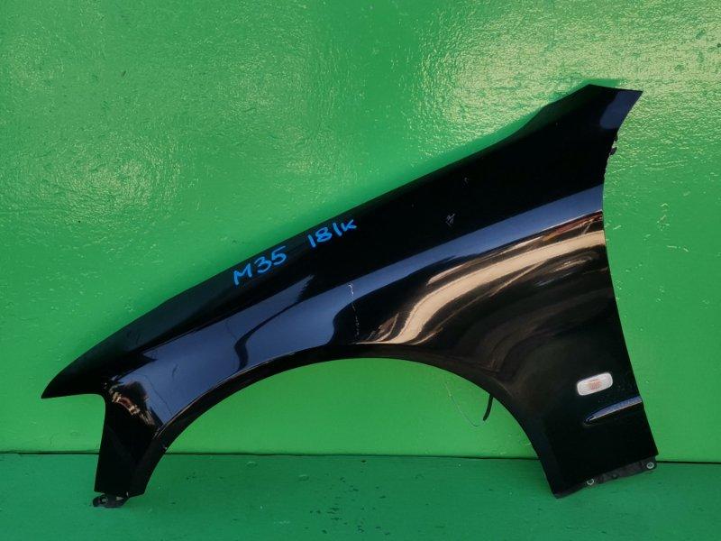 Крыло Nissan Stagea M35 переднее левое (б/у)