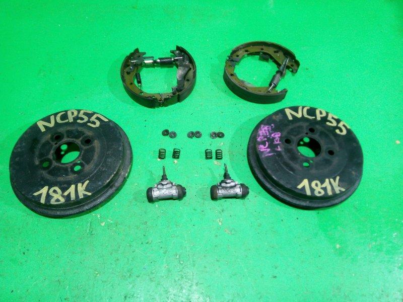 Тормозной барабан Toyota Probox NCP55 задний (б/у)