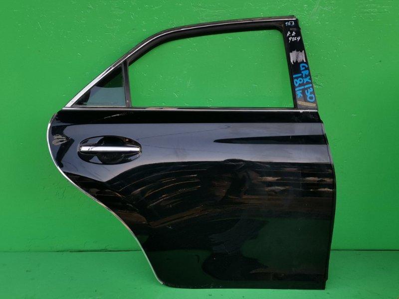 Дверь Toyota Mark X GRX130 задняя правая (б/у)