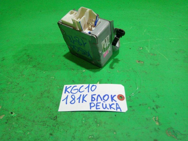 Блок управления рулевой рейкой Toyota Passo KGC10 (б/у)