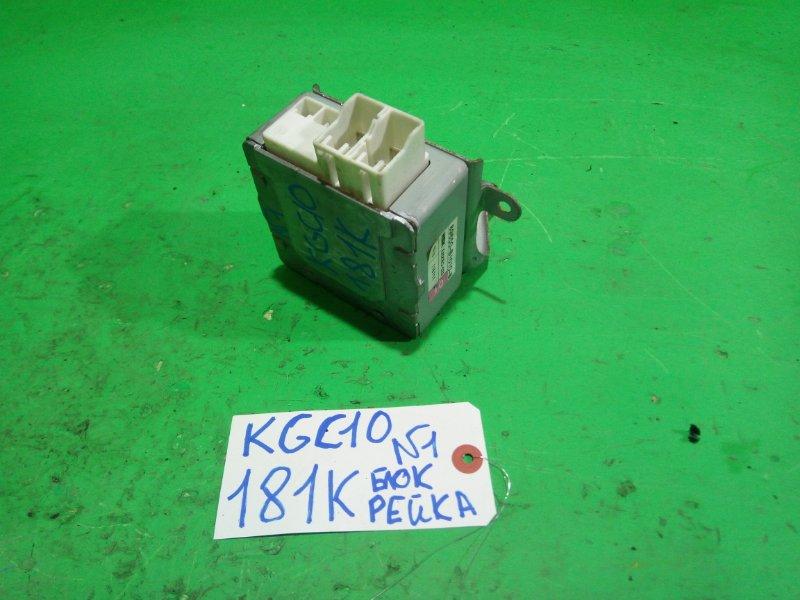 Блок управления рулевой рейкой Toyota Passo KGC10 (б/у) №1