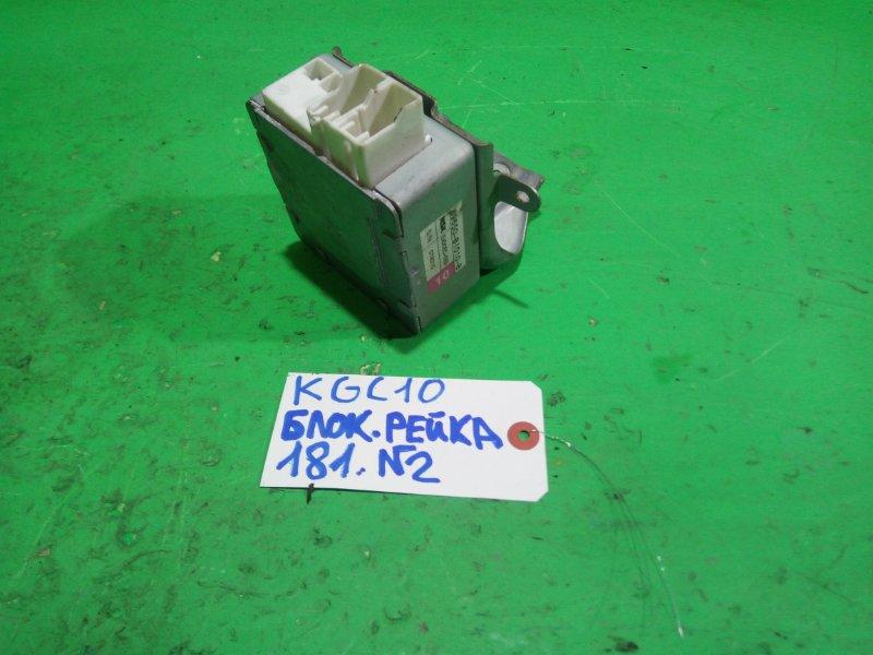 Блок управления рулевой рейкой Toyota Passo KGC10 (б/у) №2