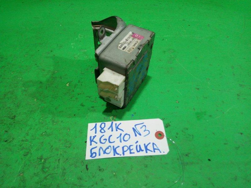 Блок управления рулевой рейкой Toyota Passo KGC10 (б/у) №3