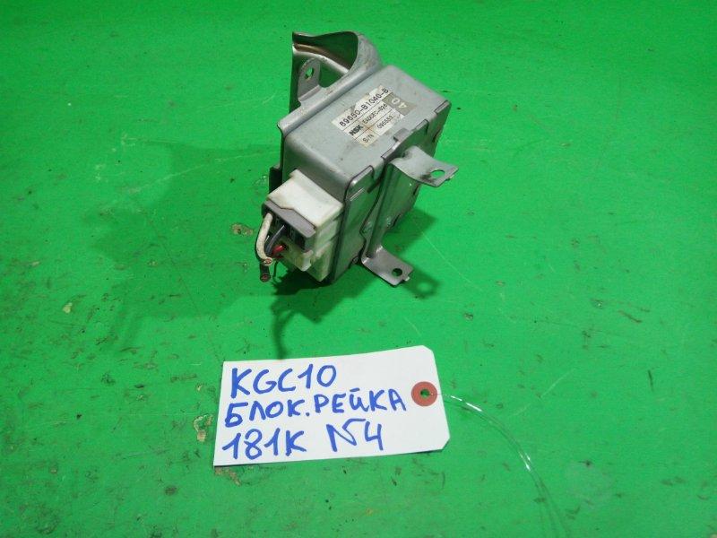 Блок управления рулевой рейкой Toyota Passo KGC10 (б/у) №4