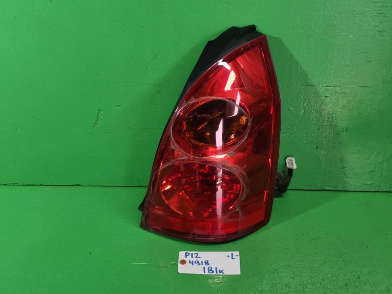 Стоп-сигнал Nissan Primera P12 левый (б/у)