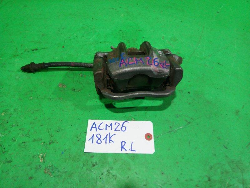 Суппорт Toyota Ipsum ACM26 задний левый (б/у)