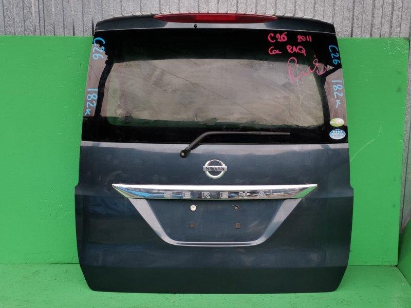 Дверь задняя Nissan Serena C26 2011 (б/у)