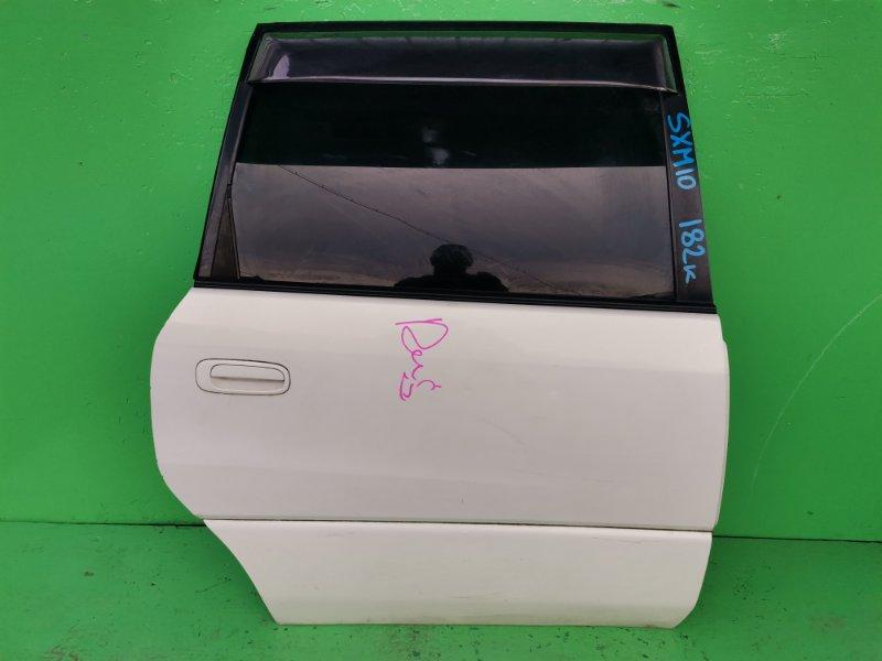 Дверь Toyota Ipsum SXM10 задняя правая (б/у)