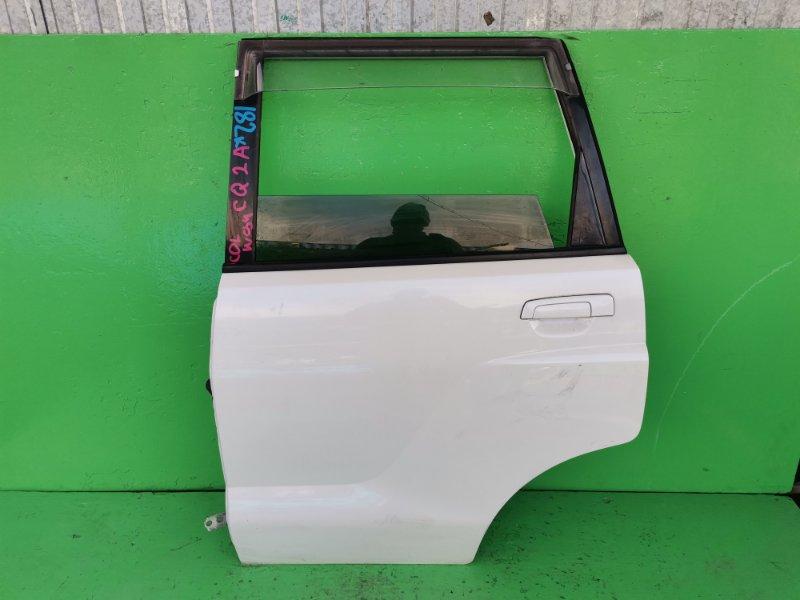 Дверь Mitsubishi Dingo CQ2A задняя левая (б/у)