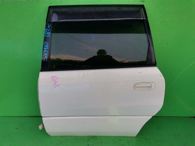 Дверь Toyota Ipsum SXM10 задняя левая (б/у)