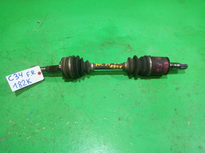 Привод Nissan Laurel C34 RB25-DE передний правый (б/у)