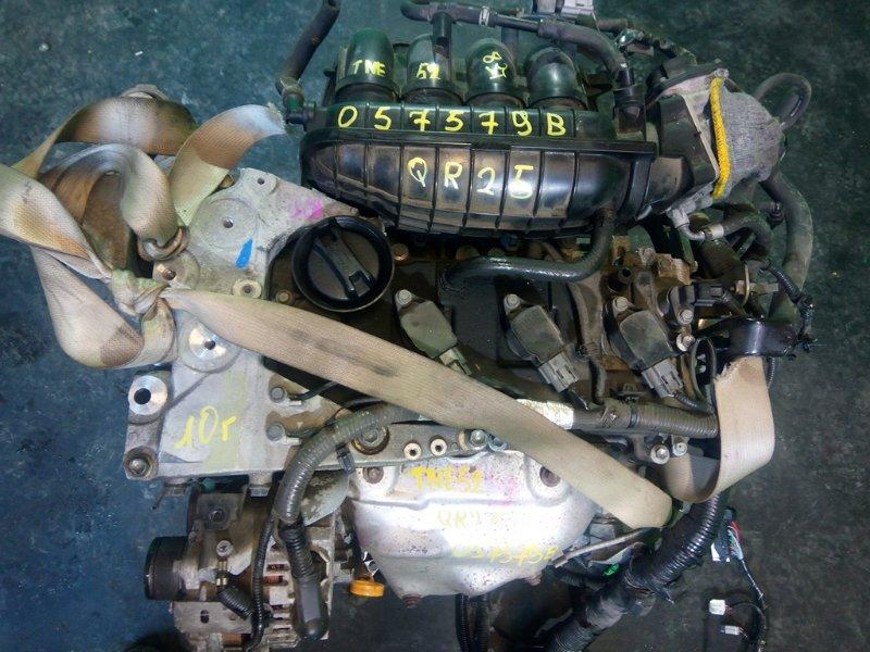 Двигатель Nissan Elgrand NE52 QR25-DE 2010 (б/у)