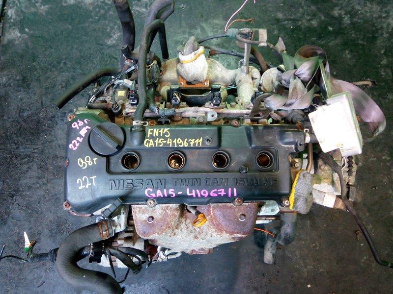 Двигатель Nissan Pulsar FN15 GA15-DE 1998 (б/у)