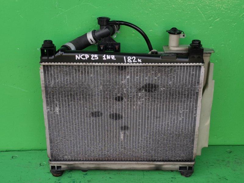 Радиатор основной Toyota Funcargo NCP25 1NZ-FE (б/у)