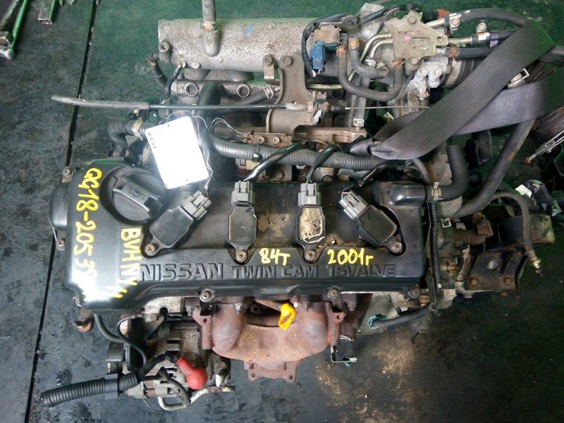 Двигатель Nissan Wingroad Y11 QG18-DE 2001 (б/у)