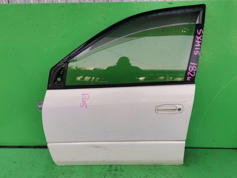 Дверь Toyota Ipsum SXM15 передняя левая (б/у)