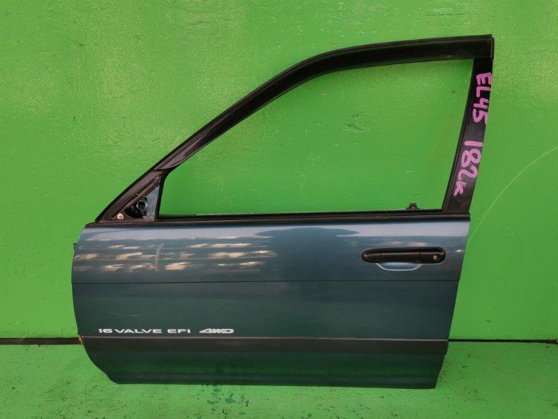 Дверь Toyota Tercel EL45 передняя левая (б/у)