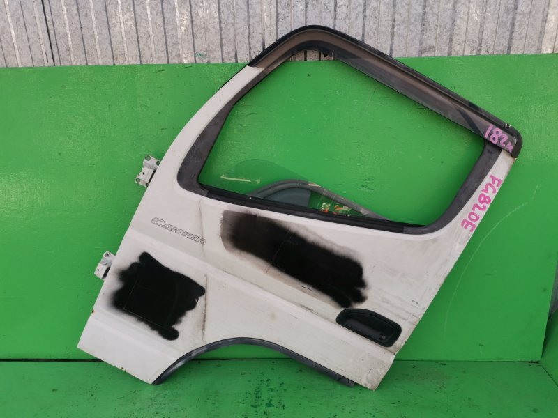 Дверь Mitsubishi Canter FG82DE передняя левая (б/у)