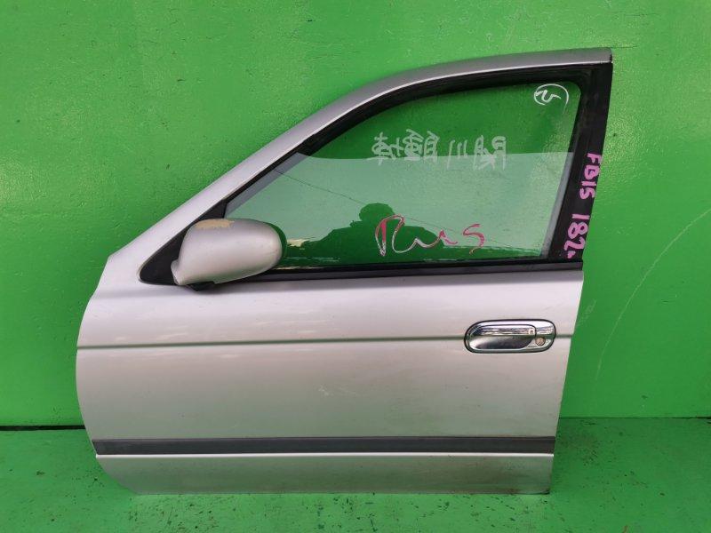 Дверь Nissan Sunny FB15 передняя левая (б/у)